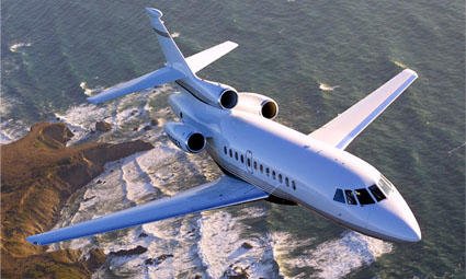 Exterior of Falcon 900 EX Easy