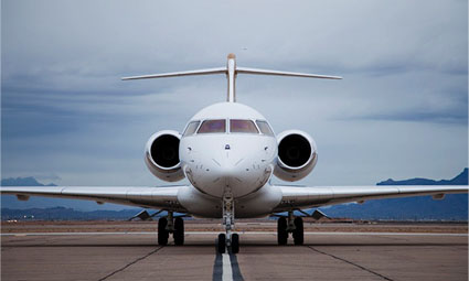 Exterior of Global 5000