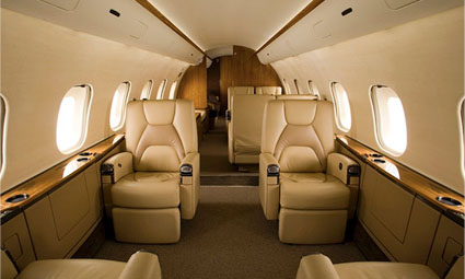 Interior of Global 5000