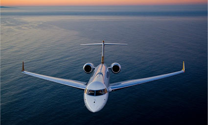 Exterior of Global 6000