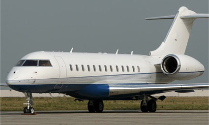 Exterior of Global Express