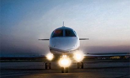 Exterior of Gulfstream G150