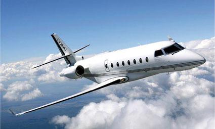 Exterior of Gulfstream G200