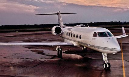 Exterior of Gulfstream G450