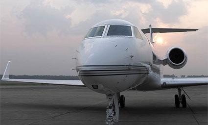 Exterior of Gulfstream G550