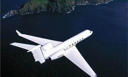 Exterior of Gulfstream V