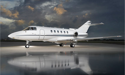 Exterior of Hawker 800 XP