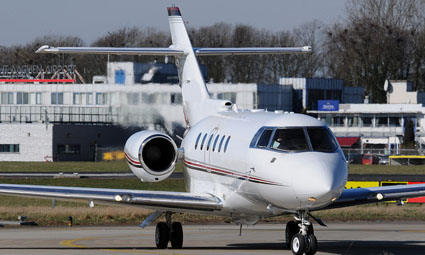 Exterior of Hawker 800 XPi