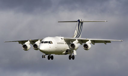 Exterior of BAe 146-200