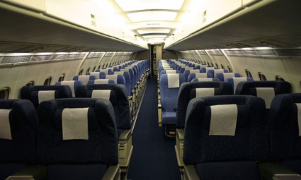 Interior of BAe 146-200