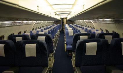 Interior of BAe 146-200