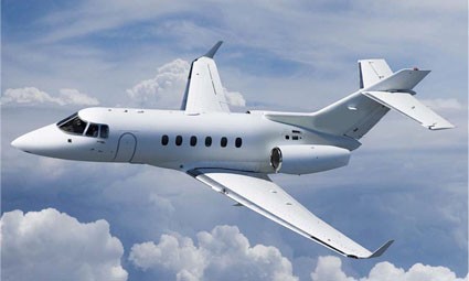 Exterior of Hawker 900 XP