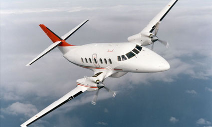 Exterior of Jetstream 32