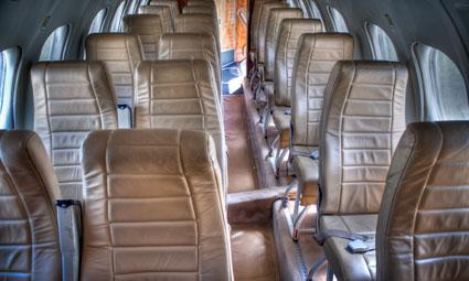 Interior of Jetstream 32