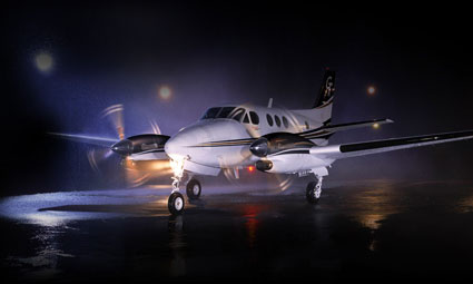 Exterior of King Air C90GTi