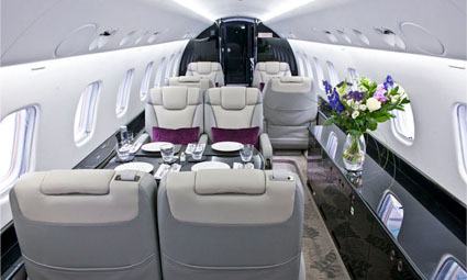 Interior of Legacy 650