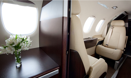 Interior of Phenom 100