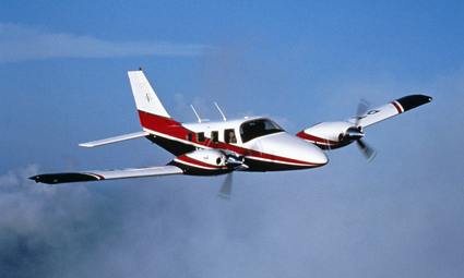 Exterior of Piper PA-34 Seneca