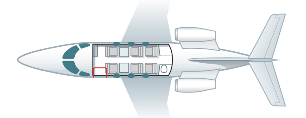 Floor plan of Premier IA