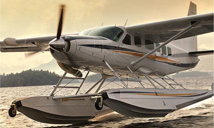 Exterior of Cessna C208 Amphibian