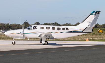 Exterior of Cessna Conquest I