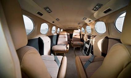 Interior of Cessna Conquest I