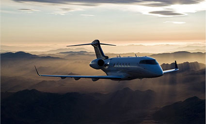 Exterior of Challenger 300