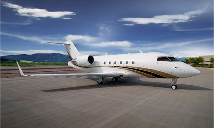 Exterior of Challenger 601