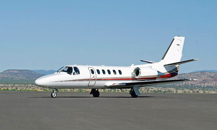 Exterior of Citation Bravo
