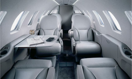 Interior of Citation Bravo