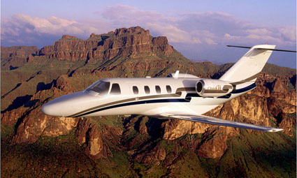 Exterior of Citation CJ1