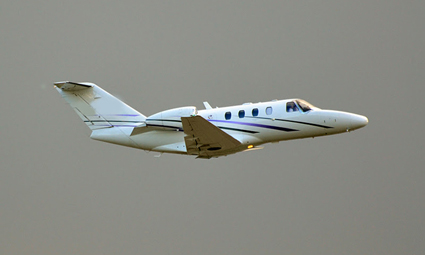Exterior of Citation CJ1+