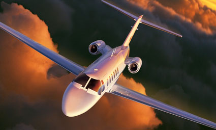 Exterior of Citation CJ2