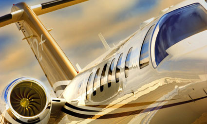Exterior of Citation CJ2+