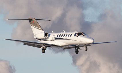 Exterior of Citation CJ3