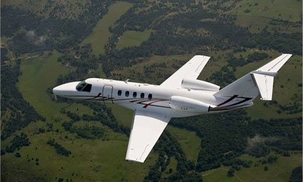 Exterior of Citation CJ4