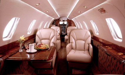 Interior of Citation Encore+