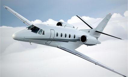 Exterior of Cessna Citation Excel