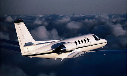 Exterior of Citation II