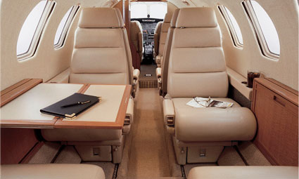 Interior of Citation II