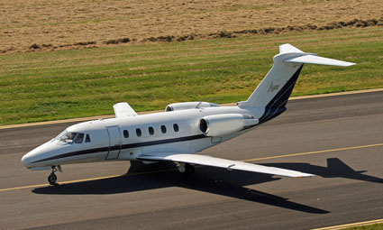 Exterior of Citation III
