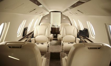 Interior of Citation III