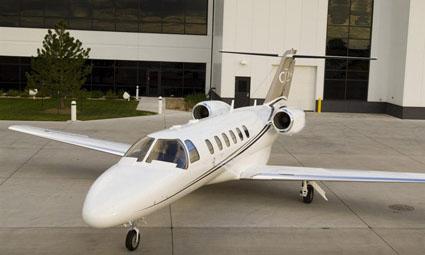 Exterior of Citation Jet (CJ)