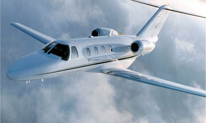 Exterior of Citation Jet (CJ)