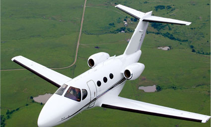 Exterior of Citation Mustang