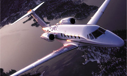 Exterior of Cessna Citation VII