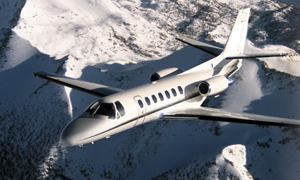 Exterior of Cessna Citation V Ultra