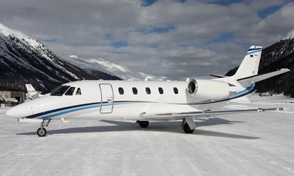 Exterior of Cessna Citation XLS+