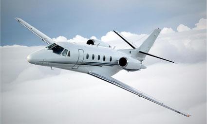 Exterior of Cessna Citation XLS+