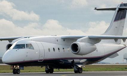 Exterior of Dornier 328 Executive Jet